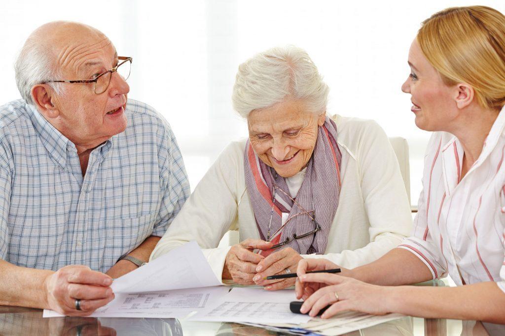 оформление в дом престарелых