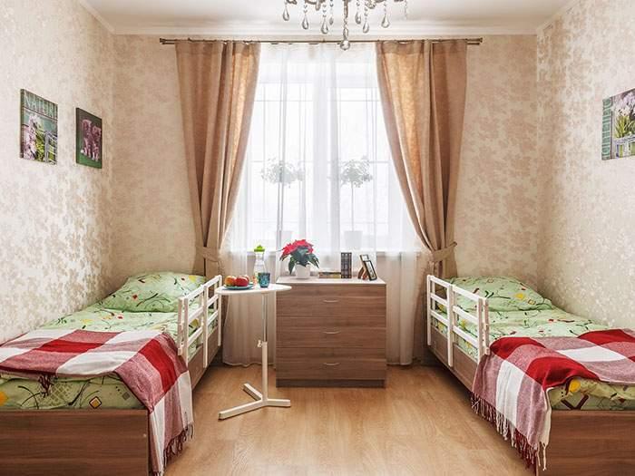 комнаты для проживания